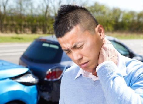交通事故治療・むち打ち症画像